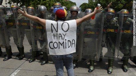 Manifestations au Venzuela, crise politique
