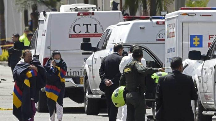 Colombie : au moins huit morts et dix blessés dans l'attentat à la voiture piégée à Bogotá