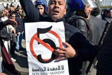 Marches en Algérie contre le 5ème mandat présidentiel