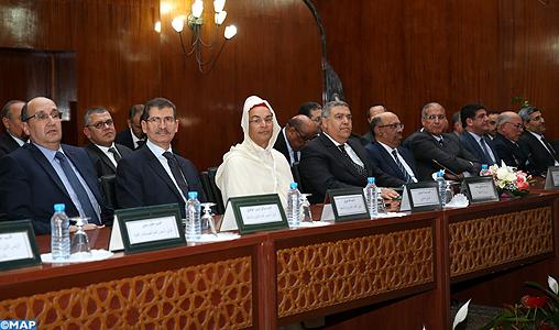 Laftit préside la cérémonie d'installation du nouveau Wali de la région de Casablanca-Settat