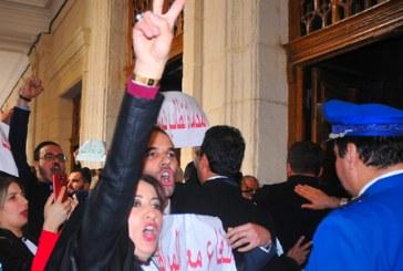 Sit-in des avocats à Alger contre le 5ème mandat présidentiel