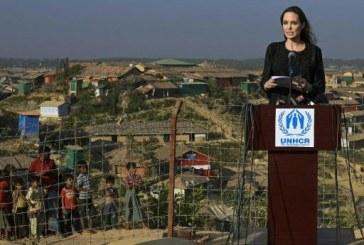 Angelina Jolie appelle la Birmanie à cesser la persécution des Rohingyas