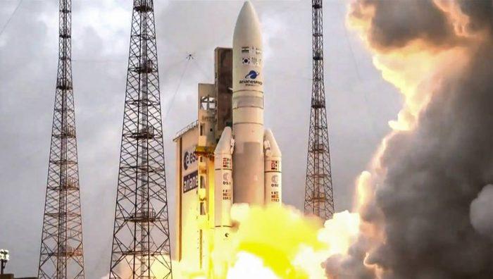 Lancement réussi de la première Ariane 5 de l'année