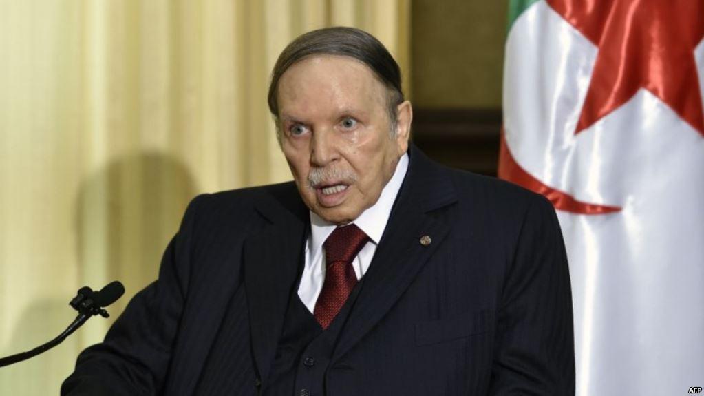 Le Président Abdelaziz Bouteflika candidat du FLN pour un cinquième mandat