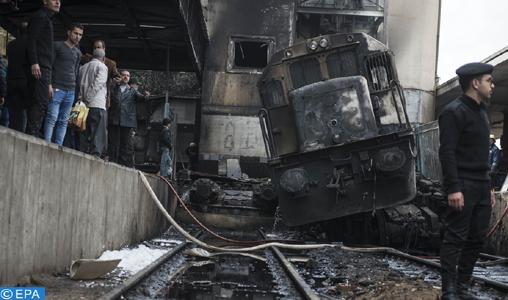 Accident ferroviaire au Caire : Au moins 25 morts et 50 blessés