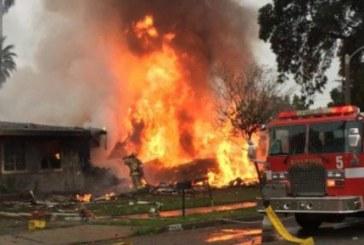 USA : Cinq morts dans le crash d'un petit avion dans un quartier résidentiel en Californie