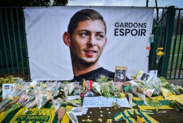 Disparition d'Emiliano Sala: l'épave de l'avion qui transportait le footballeur retrouvée