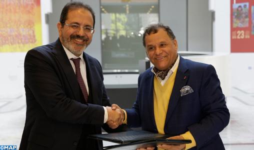 FNM/ONDA: signature d'une convention de partenariat pour la promotion de la culture artistique marocaine dans les aéroports