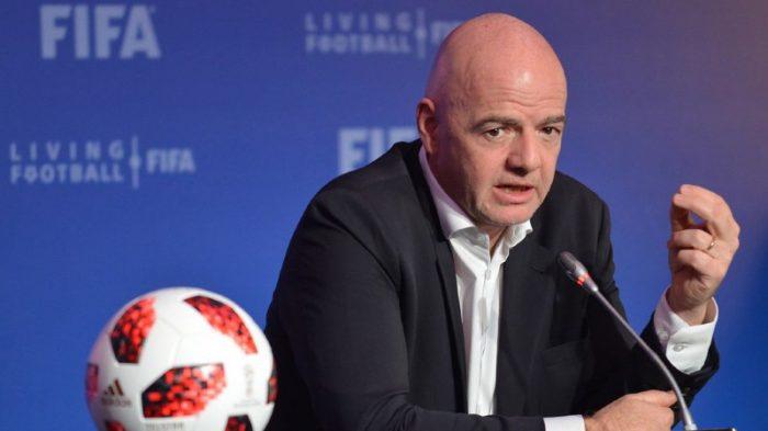 Gianni Infantino seul candidat à la présidence de la FIFA