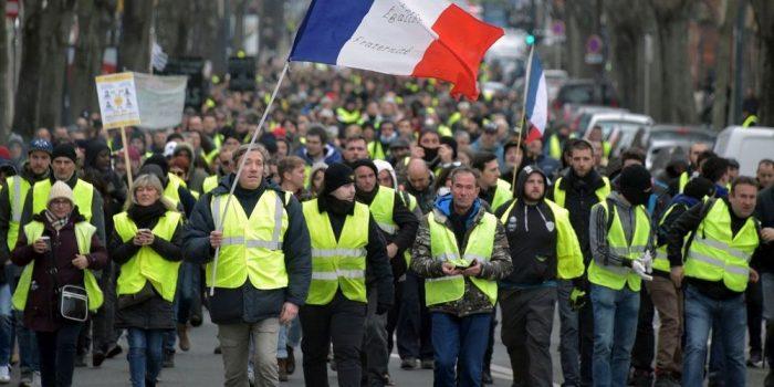 """""""Gilets jaunes"""" : nouvelle baisse de la mobilisation"""