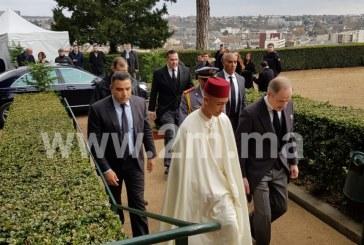 SAR le Prince Héritier Moulay El Hassan représente SM le Roi aux obsèques du Comte de Paris, Henri d'Orléans