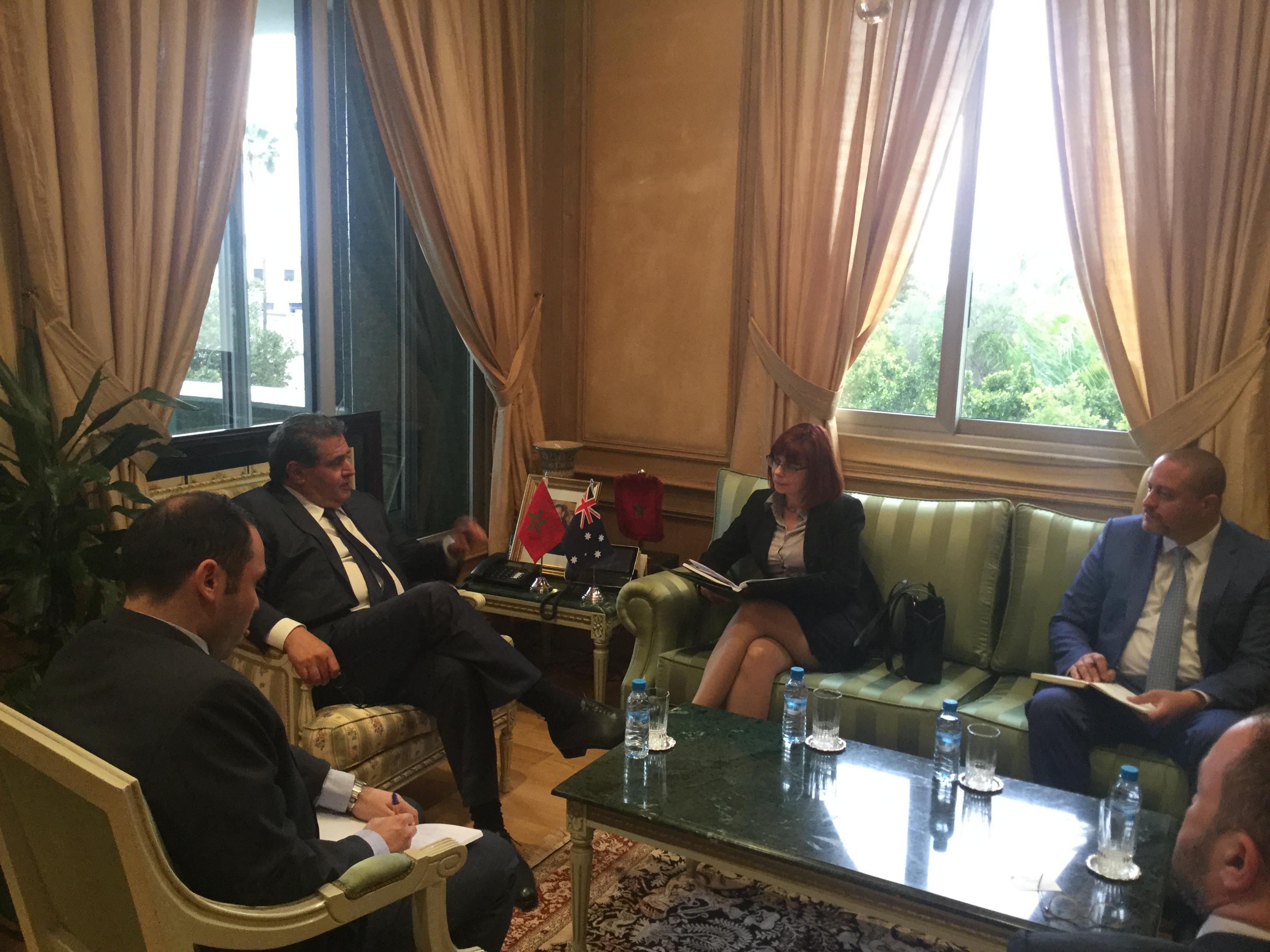 Akhannouch en visite en Australie pour renforcer les relations économiques bilatérales