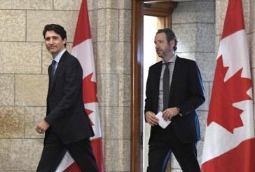 Canada : Démission du principal conseiller de Justin Trudeau