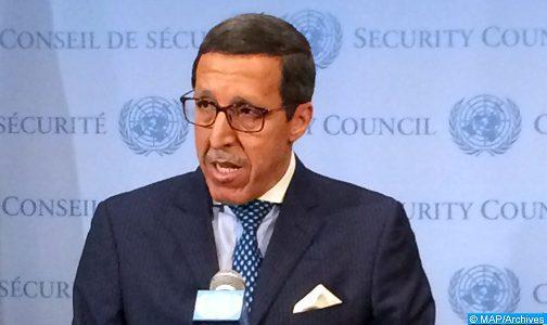 L'ONU annonce la visite de l'ambassadeur Omar Hilale en République centrafricaine