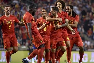 La Belgique conserve la tête du classement FIFA