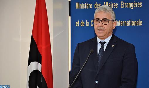 Le ministre libyen