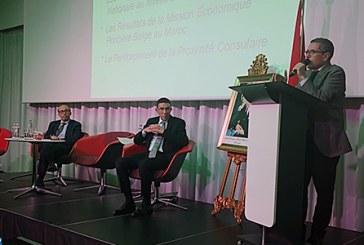 M. Ameur appelle les compétences marocaines en Wallonie à contribuer davantage au rapprochement entre le Maroc et la Belgique