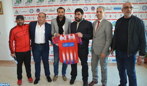 Le MAT signe pour un an et demi avec l'entraîneur Tarik Sektioui