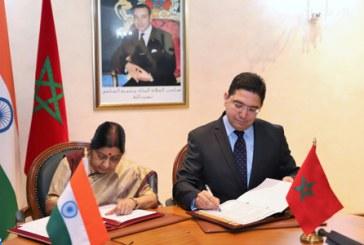 Maroc-Inde: signature de quatre accords de coopération