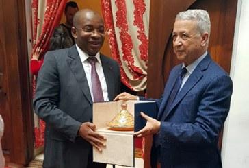 Sajid s'entretient avec son homologue ivoirien des moyens de renforcer la coopération entre les deux pays