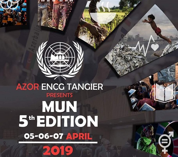 Tanger: 5ème édition de la Modélisation des Nations Unies du club AZOR du 5 au 7 avril