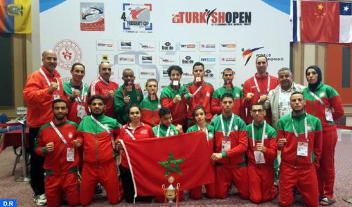 Para-taekwondo/Championnat du monde: le Maroc décroche cinq médailles dont une en or
