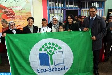 """Casablanca-Settat: 146 écoles labellisées """"Pavillon Vert"""""""