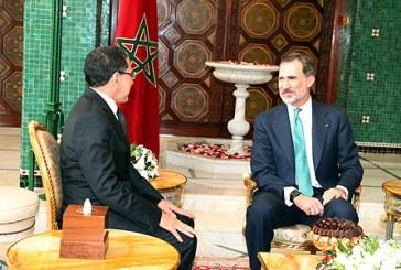SM le Roi Don Felipe VI d'Espagne reçoit le chef du gouvernement