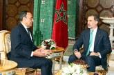 SM le Roi Don Felipe VI d'Espagne reçoit le président de la Chambre des représentants