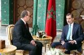 SM le Roi Don Felipe VI d'Espagne reçoit le président de la Chambre des conseillers