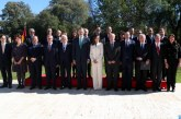 SM le Roi Felipe VI et la Reine Letizia reçoivent des écrivains marocains d'expression espagnole