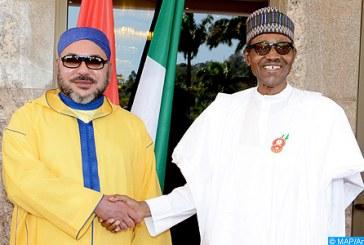 SM le Roi s'entretient au téléphone avec le président nigérian Muhammadu Buhari suite à sa réélection