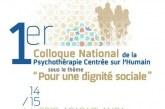 1ère édition du colloque national de la psychothérapie centrée sur l'humain