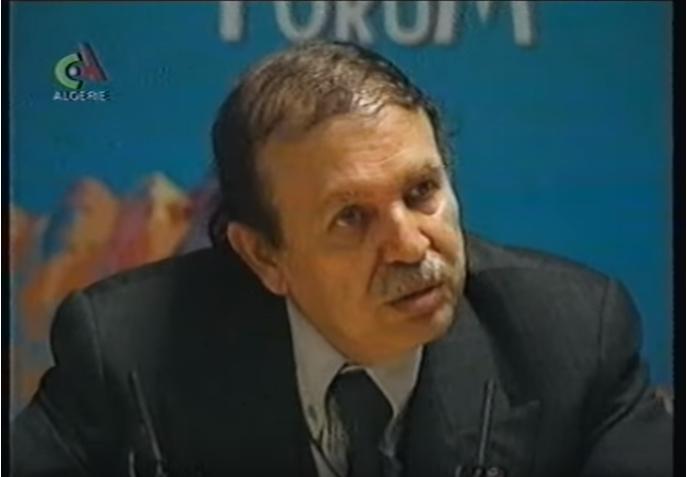 (VIDÉO). Il y a vingt ans, Bouteflika expliquait les cas de force majeure