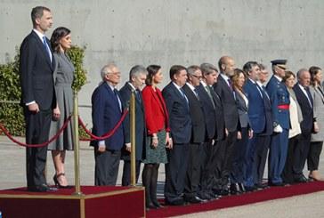 Départ des Souverains espagnols pour une visite officielle au Maroc