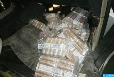 Bab Sebta: Saisie de 19 kg de résine de cannabis