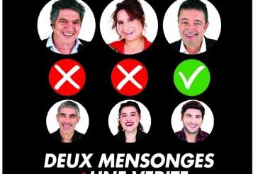 9ème édition des Théâtrales de Casablanca: « Deux Mensonges et une Vérité » le mardi 26 février au Megarama