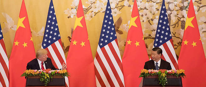 """Accord commercial USA-Chine: Trump se félicite de négociations """"très productives"""""""