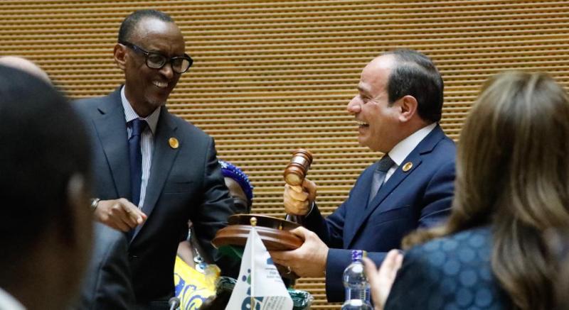32e sommet de l'UA : Abdel Fattah al-Sissi prend officiellement la présidence de l'Organisation