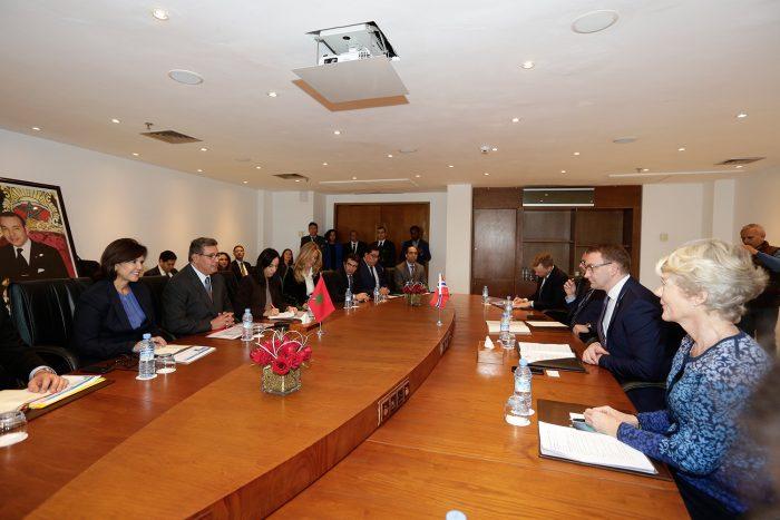 Agadir: Akhannouch s'entretient avec le Secrétaire d'État auprès du Ministre des Pêches norvégien