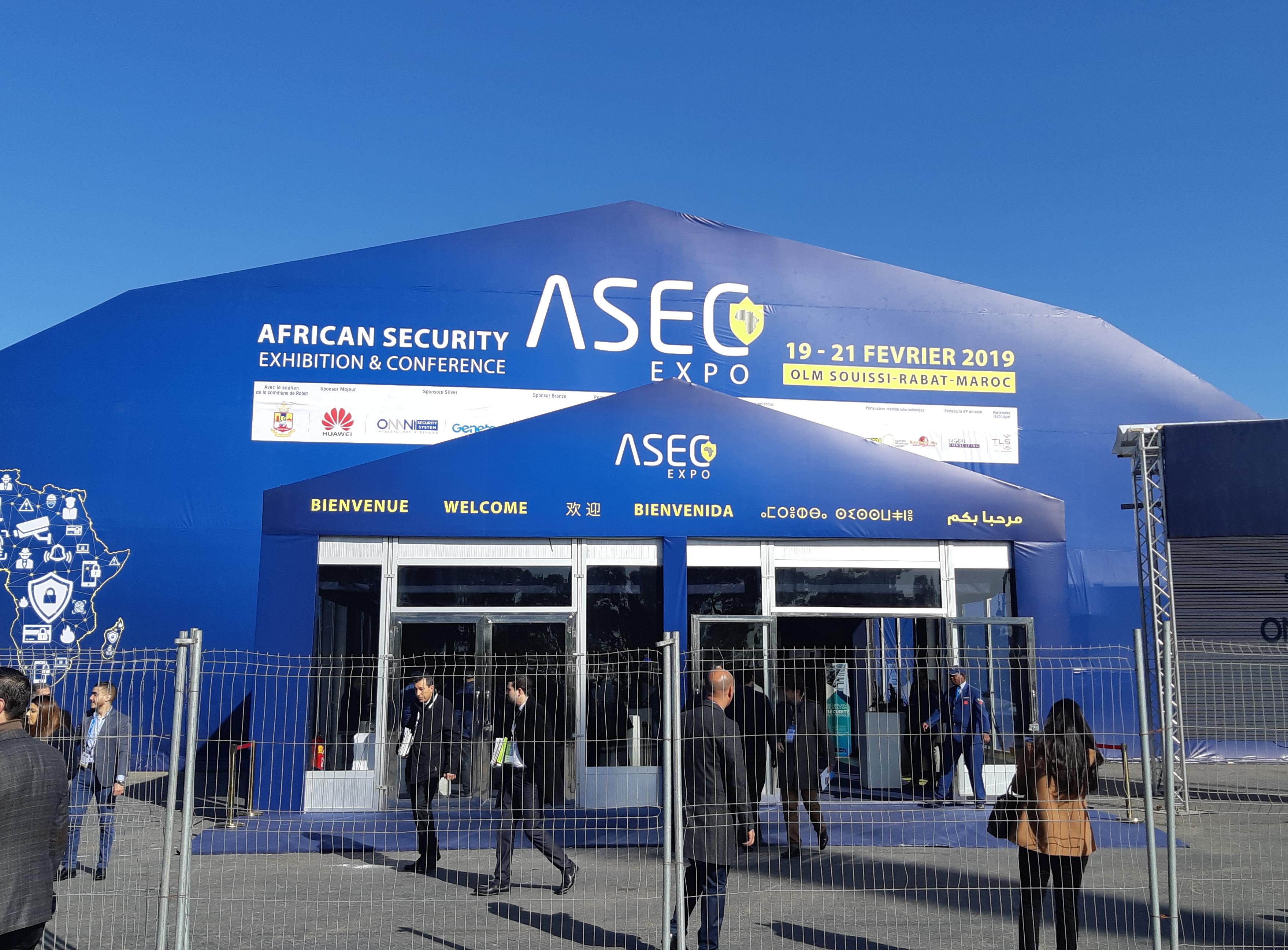 ASEC EXP0 2019 : Le premier salon africain 100% technologique dédié à la sécurité et à la sûreté