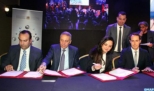 Signature de quatre conventions pour le renforcement de l'offre de formation dans les métiers de l'automobile