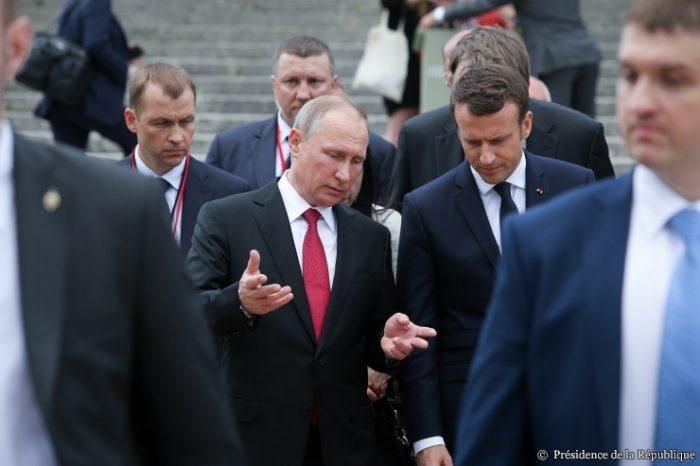 La situation en Syrie au centre d'un entretien téléphonique entre Poutine et Macron