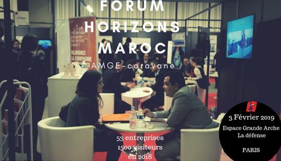 Tenue à Paris du Forum Horizons Maroc, le premier salon de recrutement marocain à l'étranger
