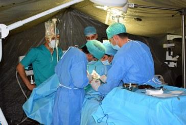 Hôpital militaire à Ouaouizeght : 48.000 prestations médicales et 460 opérations chirurgicales en 78 jours
