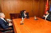 Le PM macédonien reçoit à Skopje le ministre grec de la Politique digitale