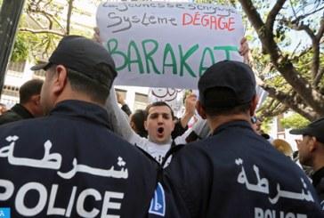 Les Algériens marchent contre le cinquième mandat
