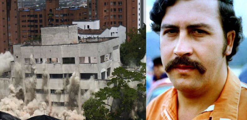 Colombie : l'immeuble de Pablo Escobar à Medellín démoli à la dynamite