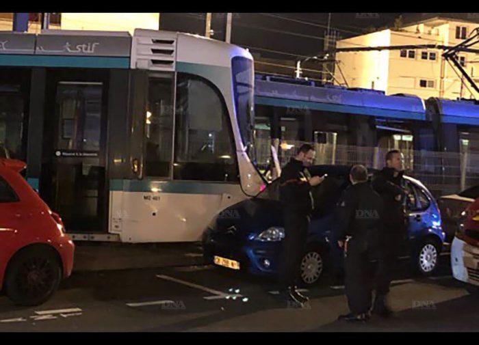 Collision entre deux tramways en région parisienne : douze blessés, dont un grave