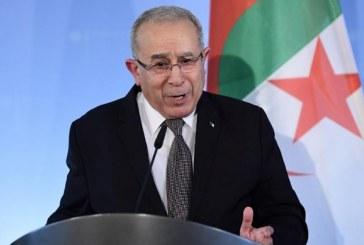 Ramtane Lamamra déclare que l'Algérie ne commettrait pas les erreurs de la Syrie et de la Libye